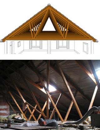 4 charpente. Black Bedroom Furniture Sets. Home Design Ideas